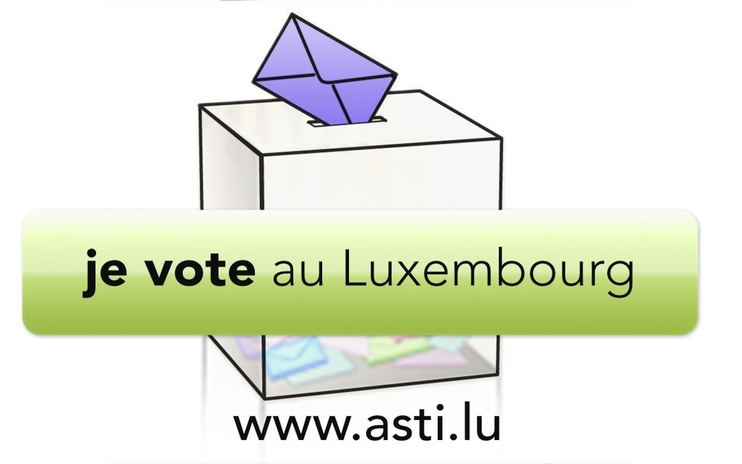 I vote in Luxembourg