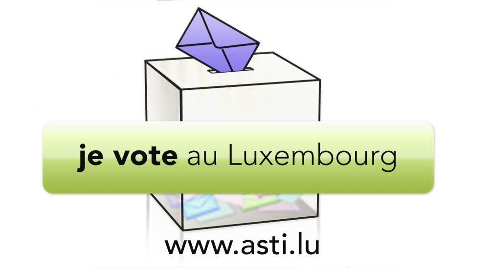 Je vote au Luxembourg