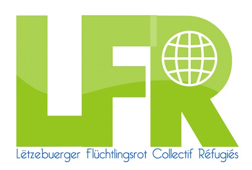 Logo LFR - Coillectif réfugiés Luxembourg