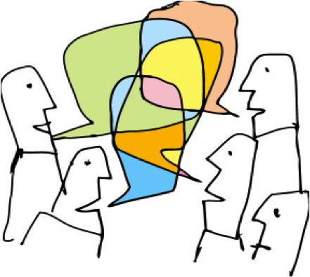 Pratiquer le français: tables de conversation