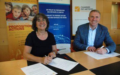 Connections: accord entre l'ASTI et la Chambre des Métiers