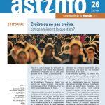 ASTInfo - Rapport d'activités approuvé à l'AG