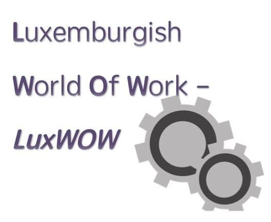 Luxemburgish World of Work logo