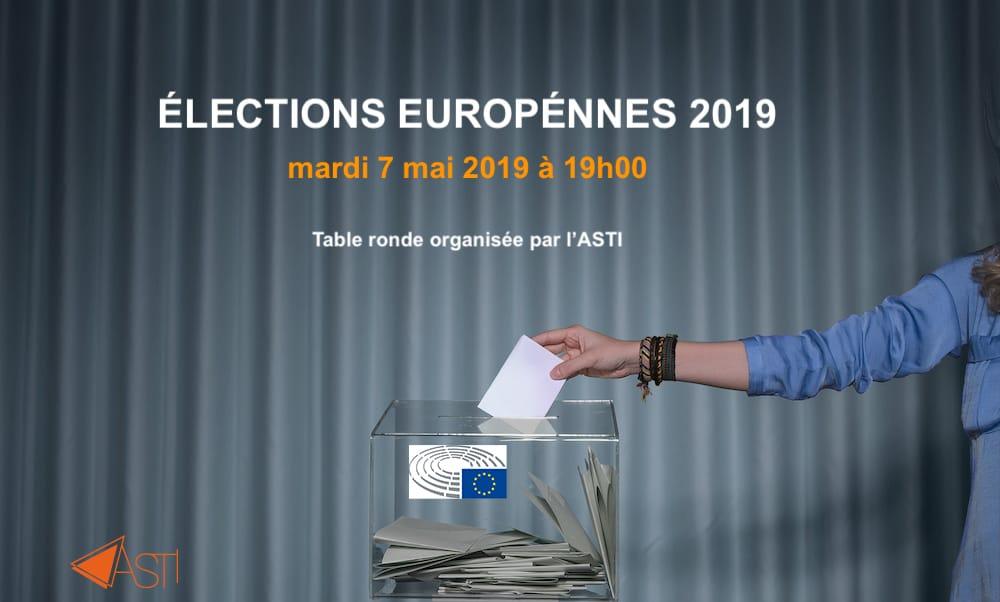 Élections européennes – table ronde organisée par l'ASTI
