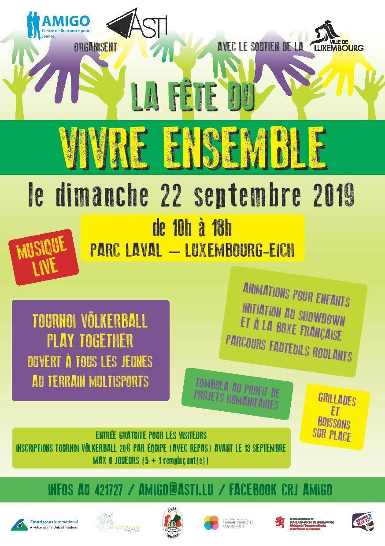 Fête du Vivre-Ensemble @ Parc Laval