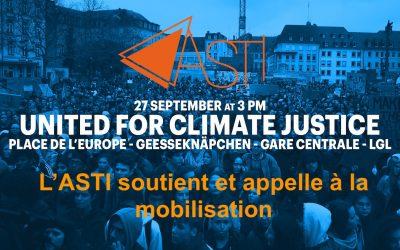 Ensemble contre l'inaction climatique et pour plus de justice sociale !