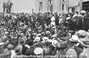 Grande manifestation 1919