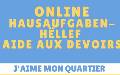 Hausaufgabenhëllef! – Aide aux devoirs !