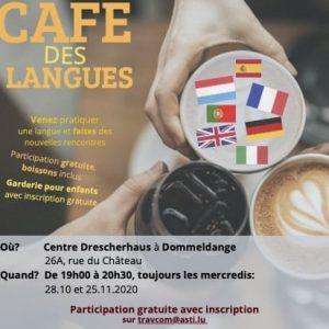 Café des Langues - Octobre/novembre 2020 @ Centre Drescherhaus