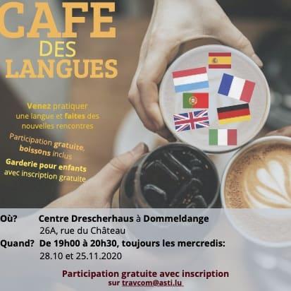 Affiche café des langues 2020