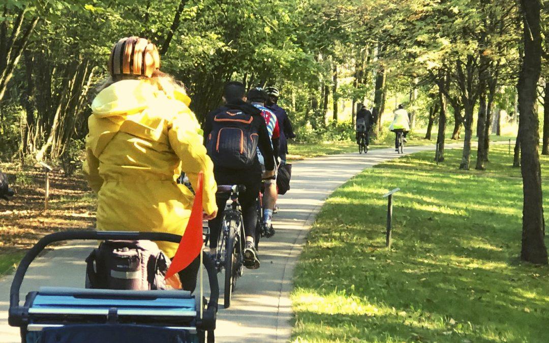 Randonnée Vélo: quartiers Nord de la Ville de Luxembourg  – 15 mai 2021